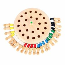 Wooden Memory Match Stick Chess Game Children Kids Puzzle Educational Toys