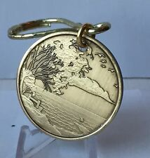 Serenity Lake Peace Within The Storm Key Tag Chain AA Medallion Chip Coin