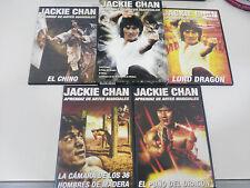 JACKIE CHAN APPRENDISTA DI ARTI MARZIALI CASSETTA LOTTO 4 X DVD SPAGNOLO REGIONE