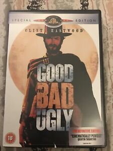 The Good The Bad And The Ugly DVD (Region 2 UK & Eur)