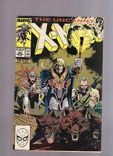 The Uncanny X Men No 252 November 1989 Marvel