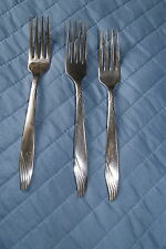 Oneida Ltd. stainless, Surf, 3 dinner forks