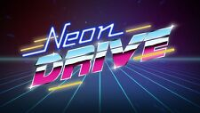 NEON DRIVE - Steam chiave key - Gioco PC Game - Free shipping - ROW