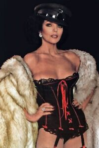 """JOAN COLLINS - 12"""" x 8"""" Colour Photograph from 'THE STUD' 1977"""