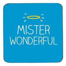 Happy Jackson Mr Mister Wonderful Coaster Gift Drinks Mat Husband Valentines Day