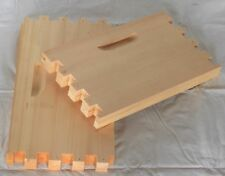 Shallow 10 Frame Unassembled Langstroth Bee Box Commercial Pine Free Shipping