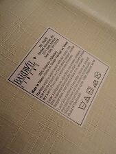 "BARDWIL  Very Nice  Cream ? New Table Cloth about 52""X70"" Polyester  REDUCE"