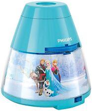 Kinder Disney Frozen LED Projektor Tischleuchte Philips Nachtlichter NEU
