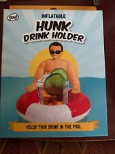 Inflatable Hunk Drink Holder Brand New In Box