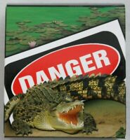 2009 Deadly and Dangerous – Saltwater Crocodile 1oz Silver Proof Coin
