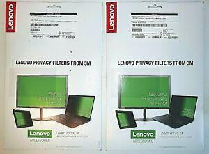 """Pair of Lenovo 14"""" Yoga Privacy Filter - 260 P20  370 4XJ0L01578 35.6 cm"""