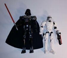 Lego 75111 Star Wars Buildable Figure Darth Vader & First Order Trooper 75114