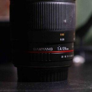 Samyang 24mm f/1.4 ED AS UMC Lens for Canon