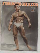 vintage bodybuilding magazine - Strength & Health - 11/1949 - TTBE
