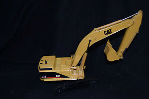 Vintage Joal Caterpillar Cat 375 Hydraulic Excavator 1:50 Scale Diecast Model