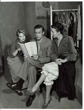 Mona Freeman Scott Brady Andrea King Actors Shoplifter Vintage Photograph 9 x 7