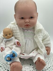 Large Berenguer Baby Doll, 50cm Tall, 20' & Bonus vinyl Baby Doll