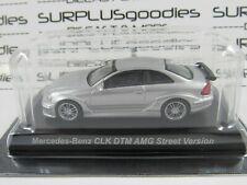 KYOSHO 1:64 Minicar Collection Silver MERCEDES-BENZ AMG CLK DTM Street Version