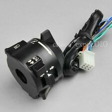 "Motorcycle 7/8"" Handlebar Horn Turn Signal Hi/Lo Beam kill Left Switch 12V Honda"