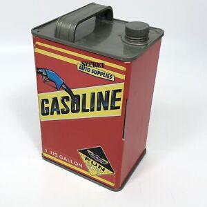 Secret Auto Supplies Gasoline Gas Can Play Set 1989 Micro Machines Galoob
