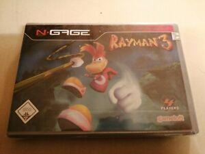 N-Gage Rayman 3 Spiel NEU OVP SEALED