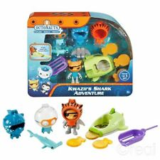 New Octonauts Kwazii's Shark Adventure Figure Set Fisher-Price Official