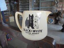Vintage Black & White Scotch Whisky Ad Ceramic Cup/ Jug, England