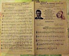 1923 Partition Mon Amour quand je danse avec Toi Frag' niche vie frag' nich