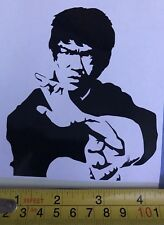 Car Window Decal - Bruce Lee Vinyl Sticker  - Van, laptop, Wall