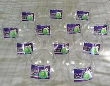 12 x Plastic Cocktail Fish Bowl/Fishbowl ~ Globe Cake/Drinking Games/Hen Party
