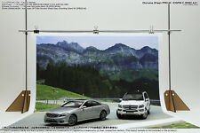 [HAKONIWAGIKEN] Diorama Sheet PRO-M Winding Road A2 600x900mm 1/18 1/24 backdrop