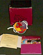 Just the Right Shoe Figurine Raine Fruity Matching Purse In Box Vtg 2000