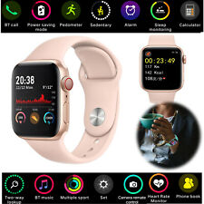 Women Lady Smart Watch Bluetooth Call Heart Rate Monitor For LG G6 G7 Huawei P40