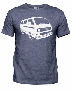 Mens Dubstar Peace Campervan Bus T3 T25 Vanagon Retro wedge T-Shirt New S-XXL