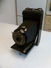 1920/30's Coronet Folding 120 Camera with f/11 Meniscus Lens (1101)