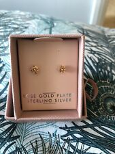 Rose Gold Plated Sterling Silver Stud Earrings from Next!