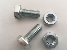 M8 SET SCREWS BOLTS AND NUTS HIGH TENSILE 8.8 FULL THREAD ZINC PLATED SETSCREWS