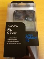 Samsung Galaxy S9 OEM S-View Flip Case Cover