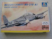 ITALERI 077 Messerschmitt me-210 a1 1:72 spedizione combinata possibile
