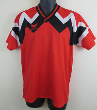 Vtg Erima 90s Football Shirt Trikot Retro Red Soccer Jersey Vintage S Small 3/4