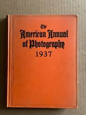 The American Annual of- Photography, Hardback Book, 1937