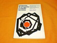 proposta di progetto a medio termine una proposta dei comunisti italiani 1977
