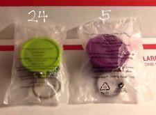 29 New Sealed Tupperware Miniature Keychains