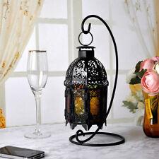 Shabby Chic Morrocan Lantern Candle Holder Home Decor Pub Bar Cafe Decor