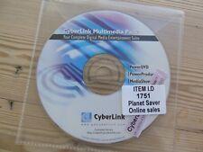 Cyberlink multimedia pack PowerDVD/Producer etc original reinstall disc #1751