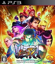 Used PS3 CAPCOM Ultra Street Fighter IV SONY PLAYSTATION 3 JAPAN JAPANESE IMPORT