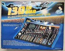 Vintage Science Fair 130 in One Electronic Project Lab Vintage Educational Toy