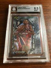Allen Iverson 1996-97 Topps Finest #69 BGS 8.5 Rookie HOF