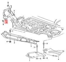 Genuine VW Heat Shield For Bulkhead NOS VW Corrado 536803312A
