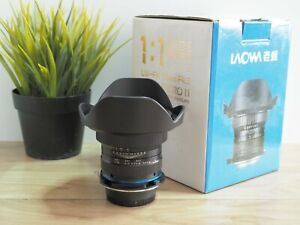 Laowa 15mm f/4 Wide Angle 1:1 Macro Lens for Nikon F Mount